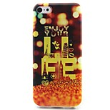Tower Pattern TPU Material Soft Phone Case for iPhone 5C
