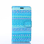 Attractive Style Pattern PU Leather Full Body Case with Stand for Sony Z3