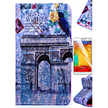 KARZEA™Triumphal Arch Pattern PU Leather Case with Screen Protector Stylus and Dust Plug for Samsung Galaxy Note3 N9000