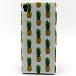 Pineapple Pattern TPU Material Soft Phone Case for Sony Xperia Z3