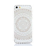 Big Round Flower Pattern Hard Back Case for iPhone 5/5S