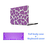 High Quality Pink Full Body Case and Solid Color Keyboard Cover for Macbook Air 13.3 inch (Assorted Colors)
