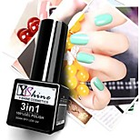 Y-SHINE 2 Pcs Nail Gel Polish Soak Off Uv Gel Nail Polish Y03-Y66(Pink&Ultramarine)