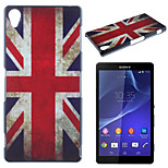 British Flag Pattern TPU Material Soft Phone Case for Sony Z2
