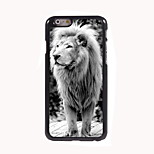 The Lion Design Aluminum Hard Case for iPhone 6