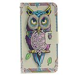 personlighet owls mönster PU läder hela kroppen fodral med ställ och kortplats för Samsung Galaxy Note 5