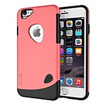 Dual-layer TPU+PC Rubber Protective Carrying Cover Case for iPhone 6 (Assorted Color)