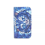 Devil's Smile  Pattern PU Leather Phone Case For Nokia 640