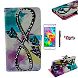 KARZEA™Bow Arrow Pattern PU Leather Case with Screen Protector Stylus and Dust Plug for Samsung Grand Prime G530