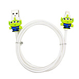 disney alienígenas cable de carga para el iphone 5g / 5s / 5c / 6 / 6plus aire Mini iPad 2 ipad