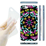 Decorative Pattern TPU Soft Back Case for iPhone 6