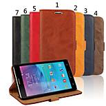 تصميم خاص عالية الجودة جلد طبيعي الهاتف المحمول الحافظة لسامسونج غالاكسي ملاحظة 4