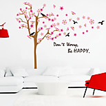 Wall Stickers Wall Decals Style Be Happy English Words & Quotes PVC Wall Stickers