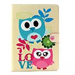 Cute owl  Pattern Hard Case for  iPad Air2/ iPad6