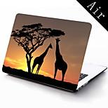 Giraffen-Muster Ganzkörper-Schutzhülle für 11-Zoll / 13 Zoll neue MacBook Air