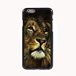 The Lonely Lion Design Aluminum Hard Case for iPhone 6