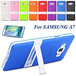 Galaxy a7 állni Capa ultra vékony, puha TPU gumi mobiltelefon esetében Samsung Galaxy a7 7000 fehér keret hátlap