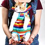 Spaß pets® Reisetasche Haustier Katze Tragetasche für kleine Hunde streicheln fünf Löcher Rucksack vorderen Kasten Rucksack (verschiedene