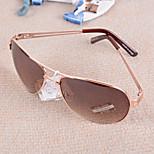 Men 's Foldable Oval Sunglasses