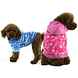 PETSOO Winter Dog Apparel Love Printing Pet Coat