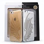 ACaso caso del tpu ultra delgado Nisky con ángel diseño especial y sereies demonio para iPhone6 más