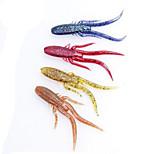 12pcs Fishing Bait Soft Cricket Lures Random Color