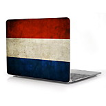 Vintage niederländische Flagge Design Ganzkörper-Schutz-Plastikfall für 12
