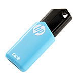 hp v150w 64gb usb 2.0 flash drive pluma