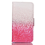Pink  Pattern PU Leather Double-Sided Phone Case For iPhone 5/5S