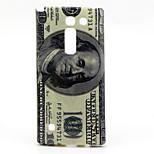 Dollar  Pattern TPU Soft Case for LG Spirit H440N H422