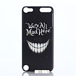Smile Face Pattern PC Hard Case for iPod Touch 5