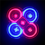 MORSEN® E27/GU10 5W 3Red+2Blue Full Spectrum Led Grow Light Smallest for Flowering  (85-265V)