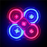 Focos MORSEN PAR GU10/E26/E27 5 W 5 LED de Alta Potencia 500 LM Rojo/Azul AC 85-265 V 1 pieza