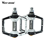 WEST BIKING® Universal 9/16 Pedals Ultralight Aluminum Bike Bearing Pedals Skid Cycling Bicycle Bike Pedals