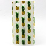 Pineapple Pattern TPU Material Soft Phone Case for Sony Z3 Mini