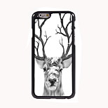 Deer Design Aluminum Hard Case for iPhone 6
