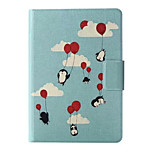 Penguin Pattern Leather Full Body Case with Stand for Amazon Kindle Paperwhite / Kindle Paperwhite 2
