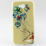 Girl Pattern TPU Material Soft Phone Case for LG L90 D405