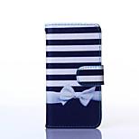 bowknot vzor PU kůže plné tělo pouzdro se stojánkem pro vícenásobné Samsung Galaxy A3 / A5 / a7