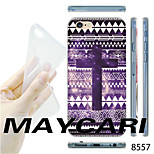 MAYCARI®National Cross Pattern TPU Soft Transparent Back Case for iPhone 6