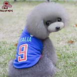FUN OF PETS® Fashionable Italy Football Team Pattern Vest for Pet Dogs(Assorted Sizes)