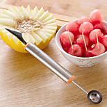 2 in1 Fruit Carving Knife Dig Ball Spoon Stainless Steel Vegetable Scooper Kitchen Tools