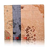 10.1 Inch Map Patterns High Quality PU Leather Case with Stand for Sony Xperia Z4 Tablet(Assorted Colors)
