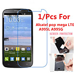 High Definition Screen Protector Flim for Alcatel One Touch Pop Mega LTE A995L A995G