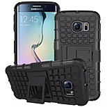 TPU+PC Shockproof Rugged Hybrid Armor Hard Case Cover For Samsung Galaxy S6 Edge/S6/S5/S5 Mini/S4(Assorted Colors)
