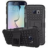 TPU + pc nárazuvzdorné robustní hybrid zbroj Hard Pouzdro pro Samsung Galaxy s6 okraji / S6 / S5 / S5 mini / S4 (různé barvy)