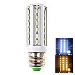 1 pcs E26/E27 18 W 42 SMD 5630 1650 LM Warm White/Cool White Corn Bulbs AC 100-240 V