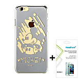 Disney Mickey Mirror Effect Cover Case for Iphone6 4.7