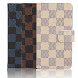 4.6 Inch Grid Pattern PU Wallet Leather Case for Sony Xperia Z3 mini(Assorted Colors)