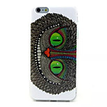 Eagle Feather Pattern TPU Soft Case for iPhone 6 Plus